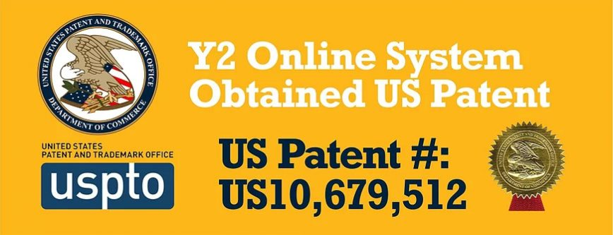 Y2 Academy Online System obtained US Patent USPTO SAT ACT Test